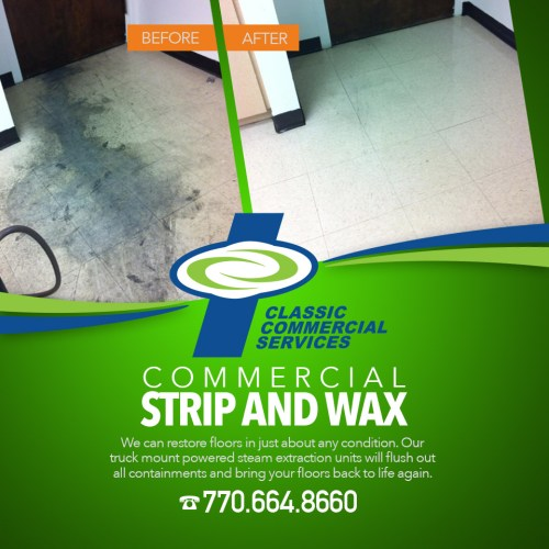 Atlanta Commercial Strip And Wax Classic Commercial