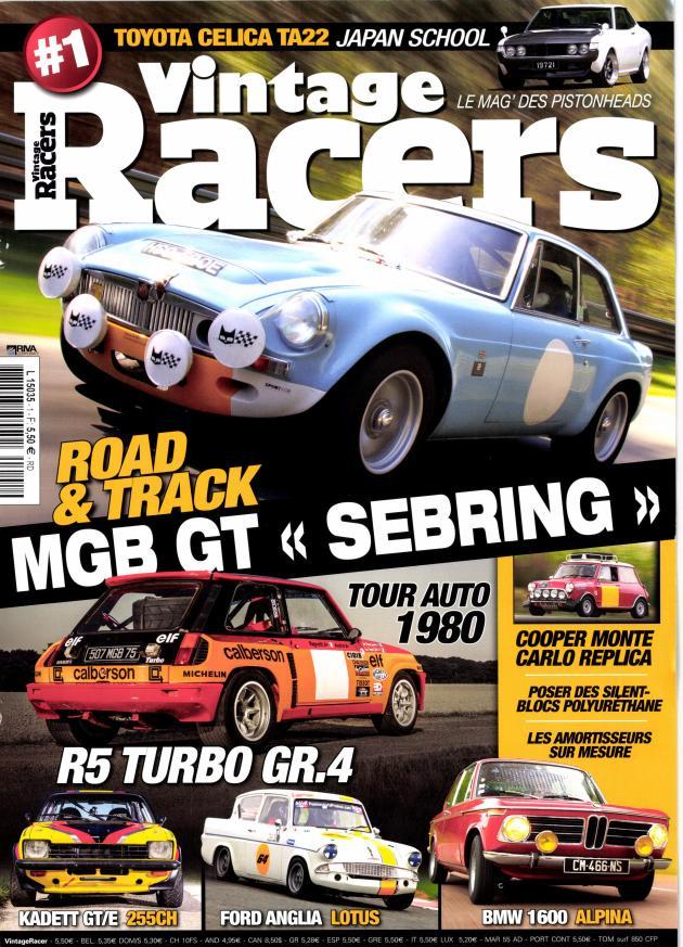 MGB GT SEBRING TARGA FLORIO Replica - 1967 - Classic Grid