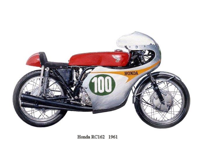 Nguyên bản Honda RC162 đời 1961