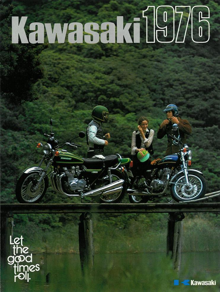 Kawasaki Sales Brochure Classic Motorbikes