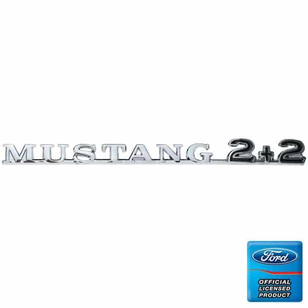 C5ZZ-16098-C-Fender-Emblem-Mustang-2+2-Fastback-65-66