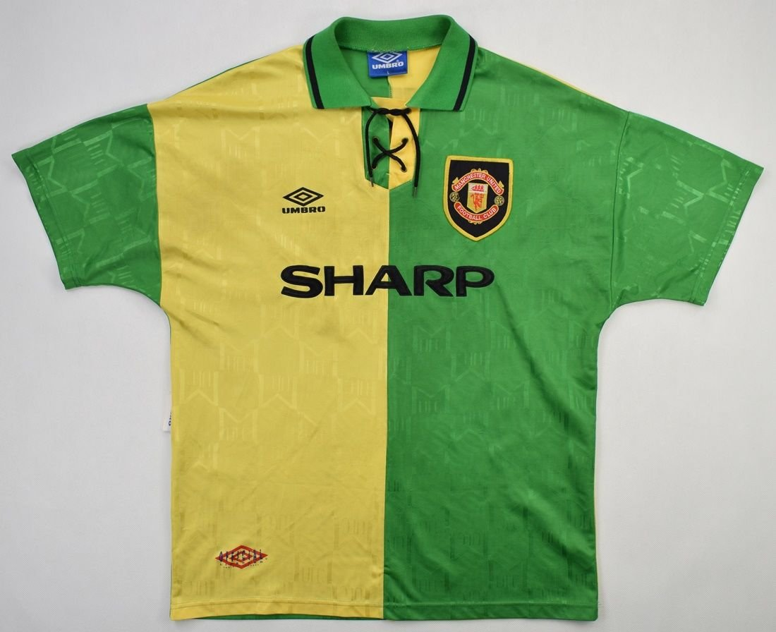 Vintage manchester united football shirts from a range of sellers. 1992-94 MANCHESTER UNITED *CANTONA* SHIRT L Football ...