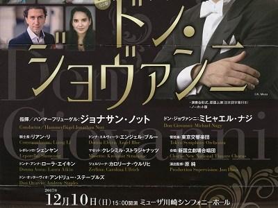 ノット指揮東響のモーツァルト 歌劇「ドン・ジョヴァンニ」K.527(演奏会形式)