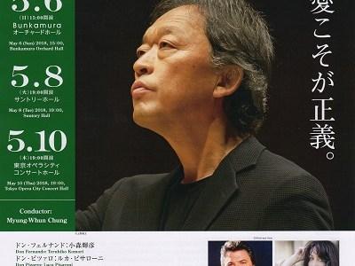チョン・ミョンフン指揮東京フィル第907回サントリー定期シリーズ