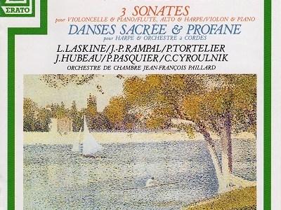 ラスキーヌ、ランパル、ユボー、トルトゥリエのドビュッシー室内楽集(1962録音)を聴いて思ふ