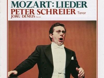 シュライアーのモーツァルト歌曲「クローエに」K.524ほか(1975.9録音)を聴いて思ふ