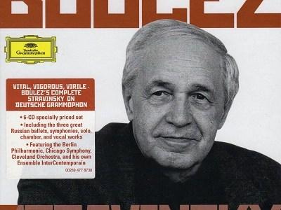 ブーレーズ指揮アンテルコンタンポランのストラヴィンスキー歌曲集(1980録音)を聴いて思ふ