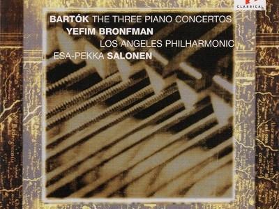 ブロンフマン&サロネン指揮ロスフィルのバルトーク協奏曲第2番(1993.5録音)ほかを聴いて思ふ