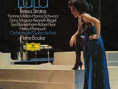 ブーレーズ指揮パリ・オペラ座管のベルク歌劇「ルル」(1979録音)を聴いて思ふ