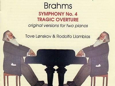 レンスコウ&ラムビアスのブラームス交響曲第4番(2台ピアノ版)(1992.8録音)を聴いて思ふ