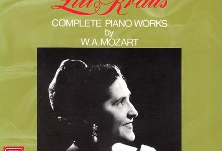 リリー・クラウスのモーツァルト アダージョK.540ほか(1956録音)を聴いて思ふ