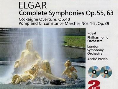 プレヴィン指揮ロイヤル・フィルのエルガー交響曲第1番ほか(1985.7録音)を聴いて思ふ