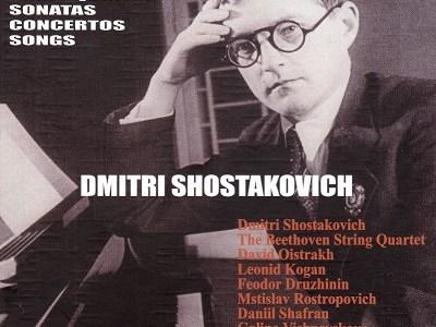 ベートーヴェン四重奏団のショスタコーヴィチ第2番(1956録音)ほかを聴いて思ふ