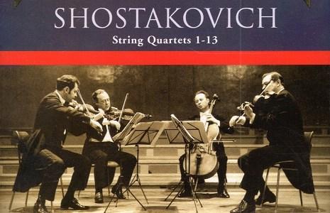 ボロディン四重奏団 ショスタコーヴィチ四重奏曲第4番(1962録音)ほかを聴いて思ふ