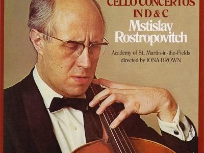 ロストロポーヴィチ アカデミー・オブ・セント・マーティン・イン・ザ・フィールズ ハイドン協奏曲集(1975.11録音)を聴いて思ふ