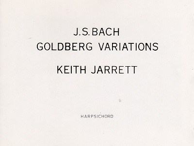 キース・ジャレット バッハ ゴルトベルク変奏曲BWV988(1989.1録音)を聴いて思ふ