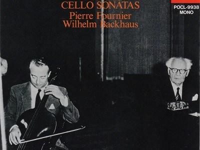 フルニエ バックハウス ブラームス チェロ・ソナタ集(1955.5録音)を聴いて思ふ