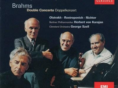 オイストラフ、ロストロポーヴィチ、リヒテル カラヤン指揮ベルリン・フィル ベートーヴェン三重協奏曲(1969.9録音)ほかを聴いて思ふ