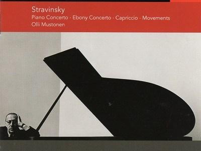 ムストネン アシュケナージ指揮ベルリン・ドイツ響 ストラヴィンスキー カプリッチョ、ムーヴメンツほか(1992.8-9録音)を聴いて思ふ