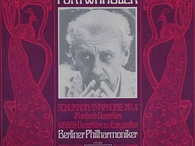 フルトヴェングラー指揮ベルリン・フィル シューマン交響曲第4番ほか(1953.5.14録音)