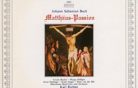 リヒター指揮ミュンヘン・バッハ管 J.S.バッハ マタイ受難曲BWV244(1969.4&5Live)