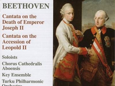セーゲルスタム指揮トゥルク・フィル ベートーヴェン 皇帝ヨーゼフⅡ世の死を悼むカンタータ(2018.10録音)