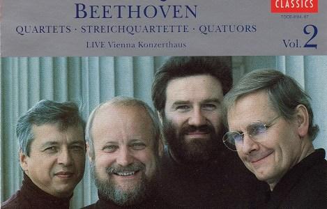 アルバン・ベルク四重奏団 ベートーヴェン ラズモフスキー第2番(1989.6.17Live)ほか
