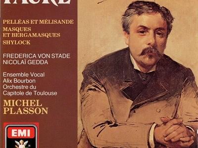 プラッソン指揮トゥールーズ・キャピトール管 フォーレ 管弦楽作品集(1979.6&1980.6録音)