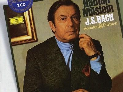 ミルシテイン J.S.バッハ 無伴奏ヴァイオリン・ソナタ&パルティータ全曲(1973録音)