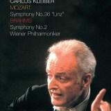 カルロス・クライバー指揮ウィーン・フィル ブラームス 交響曲第2番ほか(1991.10Live)