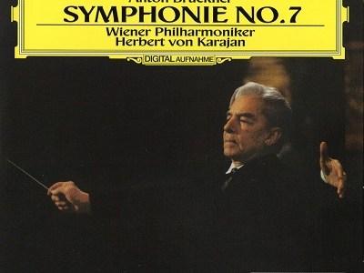 カラヤン指揮ウィーン・フィル ブルックナー 交響曲第7番(1989.4Live)