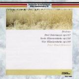 レーゼル ブラームス 3つのインテルメッツォ作品117ほか(1972&73録音)