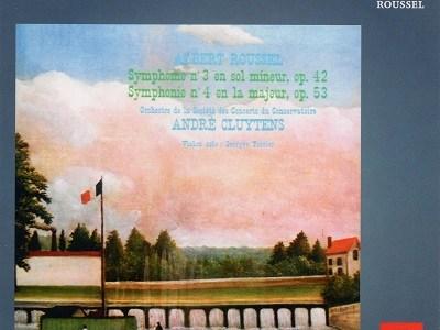 クリュイタンス指揮パリ音楽院管 ルーセル 交響曲第3番&第4番(1965.11録音)