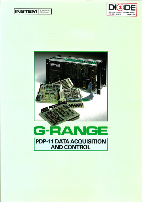 G-Range PDP-11 Data Acquisition and Control