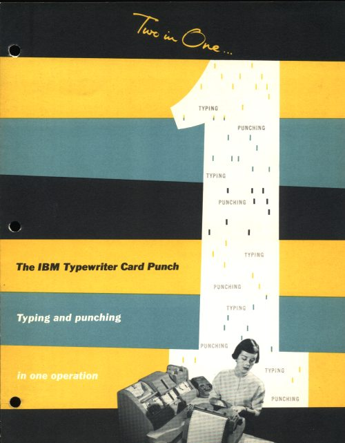 IBM 824-826 Typewriter Card Punch