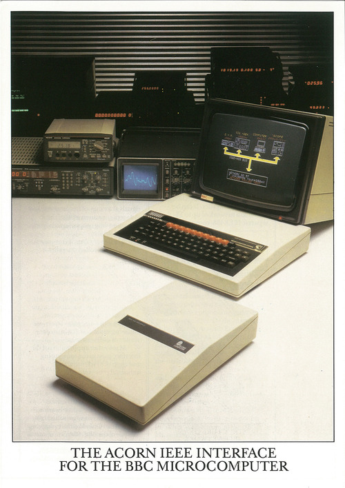 The Acorn IEEE Interface For The BBC Microcomputer