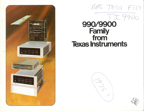 990/9900 Family from Texas Instruments