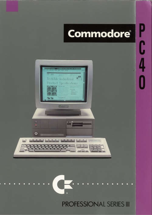 Commodore PC40