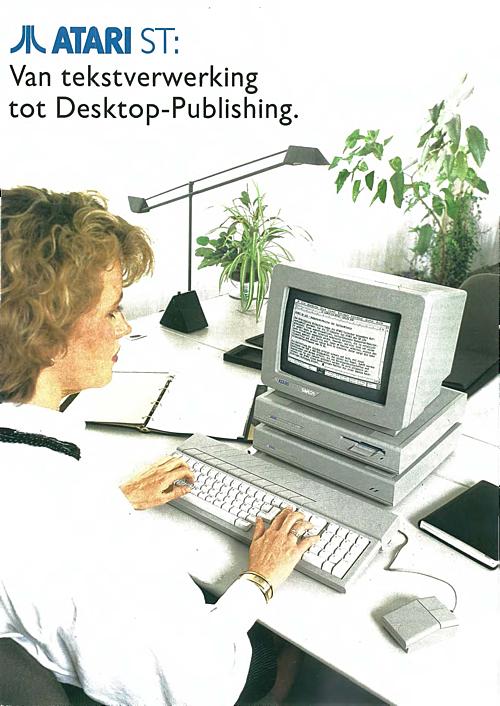Atari ST: Van tekstverwerking tot Desktop-Publishing