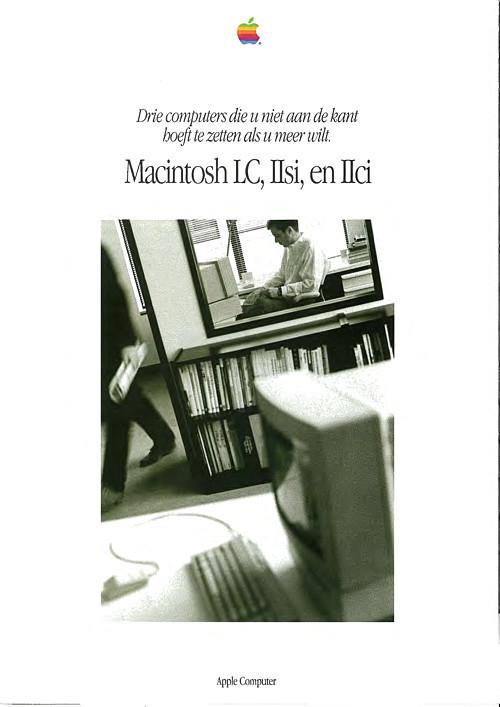 Macintosh LC, IIsi, en IIci