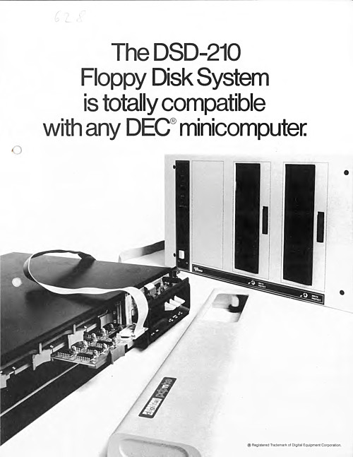 Digital DSD-210 Floppy Disk System