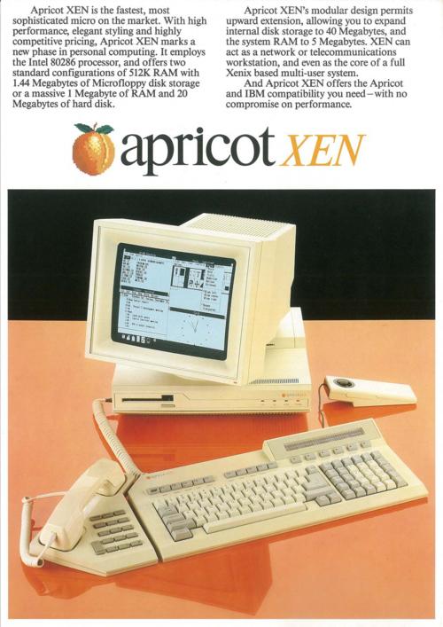 Apricot XEN