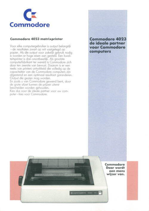 Commodore 4023