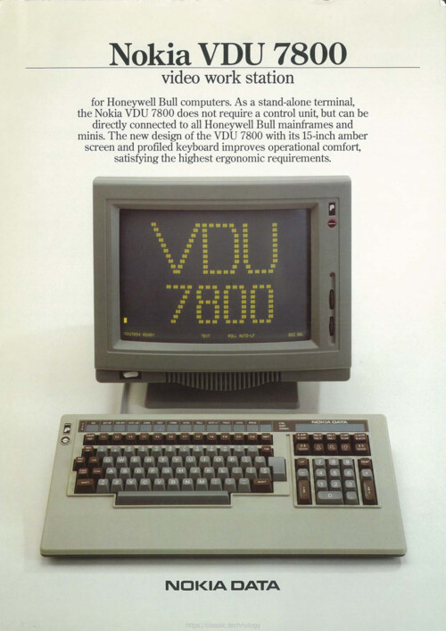 Nokia VDU 7800