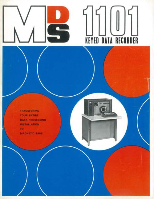 MDS 1101 Keyed Data Recorder