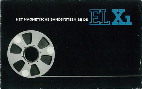 Het magnetische bandsysteem bij de EL X1