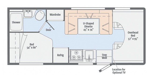 #19 Economy Class C Floor plan