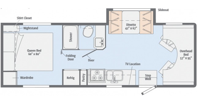 #21 Preferred Class C Floor plan