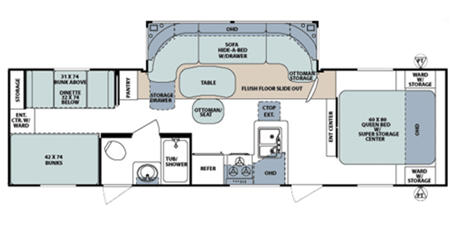 #15 Surveyor Select Floorplan