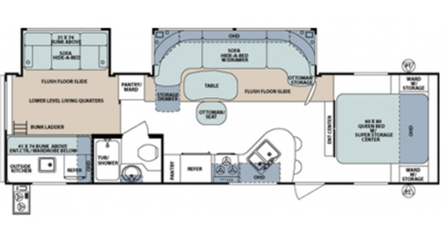 #17 Surveyor Select Floorplan